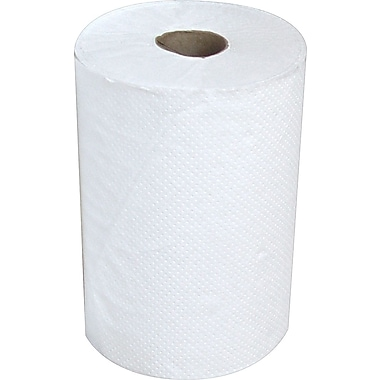 Heavenly Soft® Hardwound Paper Towel Rolls, White, 1-Ply, 12 Rolls/Case