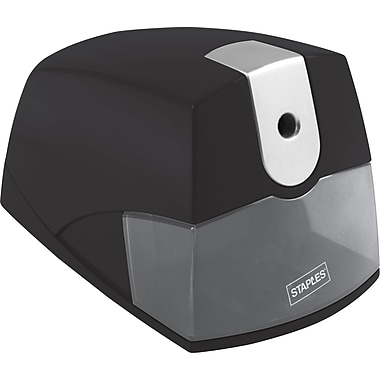 STAPLES® LIGHT DUTY ELECTRIC PENCIL SHARPENER (39668)