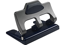 Staples® One-Touch™ Heavy-Duty 3-Hole Punch, 30-Sheet Capacity