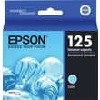 Epson 125 Cyan Ink Cartridge (T125220), Standard Yield