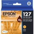 Epson 127 Yellow Ink Cartridge (T127420), Extra High Yield