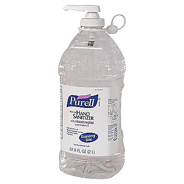 Purell® Advanced Instant Hand Sanitizer, 2 Liter Pump