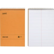 "Staples® Recycled Steno Book, 6"" x 9"", 12/pack"