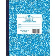 Roaring Spring Composition Notebook, Grade 2 Ruled, Blue