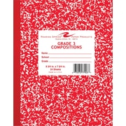 Roaring Spring Composition Book, Grade 3 Ruled, Red