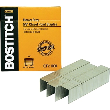 Stanley Bostitch® Heavy-Duty Premium Staples, 5/8in.