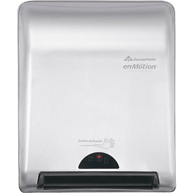 enMotion® Recessed Automated Touchless Towel Dispenser, Stainless Steel