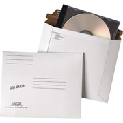 "Quality Park Redi-Strip™ Economy Disk Mailer Envelopes, 7 1/2"" x 6 1/16"", White, 100/Ct"