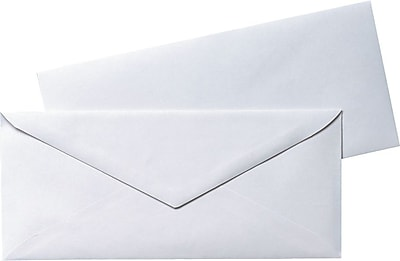 Quality Park Products 4.12 x 9 1 2 White 20 lbs. Business Envelopes