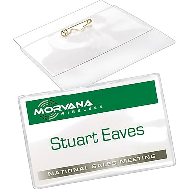 Avery® Top Loading Pin Style Name Badges