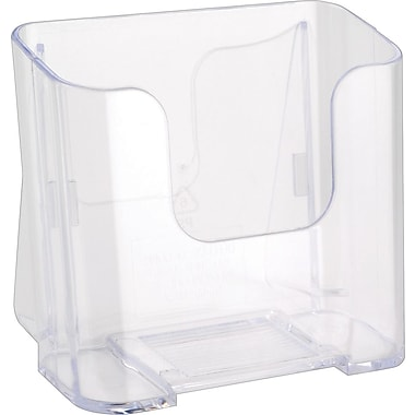 Deflecto-o Single Compartment Literature Holder, Leaflet Size