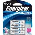 Energizer e² Lithium Batteries, AAA, 4/Pack