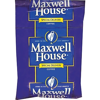 Maxwell House Special Delivery Ground Coffee, Regular, 1.2 oz., 42 Packets