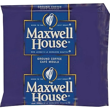 Maxwell House® Original Roast Ground Coffee, Regular, 1.5 oz., 42 Packets