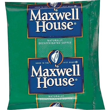 Maxwell House Original Roast Ground Coffee, Decaffeinated, 1.1 oz., 42 Packets