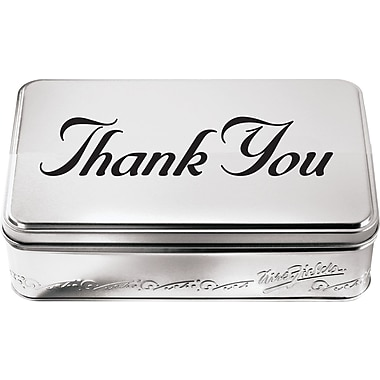 Mrs. Fields® Original Cookies Thank You Tin with 28 Nibblers
