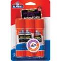 Elmer's Disappearing Purple School Glue Sticks, 3/Pack, .77 oz