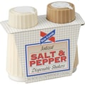 Dixie Crystals Condiment Set, 4 .oz Salt, 1.7 .oz Pepper, Two-Shaker Set