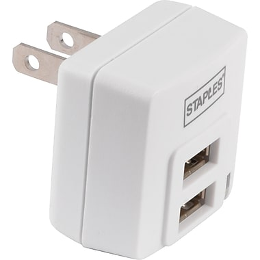Staples Dual USB Wall Charger