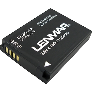 Lenmar Replacement Battery For Samsung TL320, WB1000, WB100, SLB-11A Digital Cameras