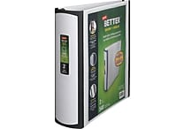 Staples Better 2-Inch D 3-Ring View Binder, White (13401-CC)