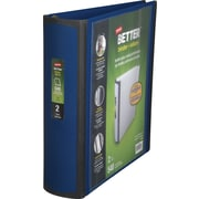 Staples Better 2-Inch D 3-Ring View Binder, Blue (13398-CC)