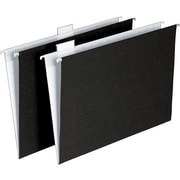 Pendaflex® 100% Recycled Hanging File Folders, Letter size, Black/White