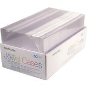 Memorex™ Slim Clear Jewel Cases, 50/Pack