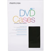 Memorex™  DVD Twin Cases 10/Pack