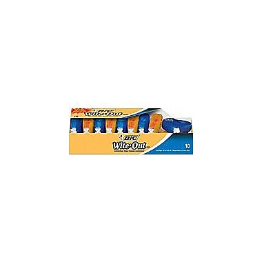 BIC® Wite-Out® Brand EZ Correct Correction Tape, 10/Pack