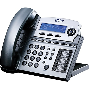 XBLUE X16 6-Line Small Office Digital Telephone, Titanium Metallic