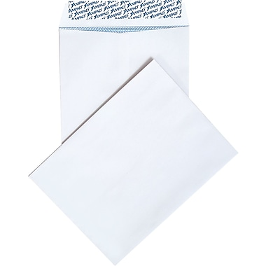 Ampad® 10in. x 13in. White Tear-Resistant Catalog Envelopes, 100/Box