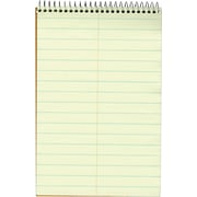 "Ampad® Evidence Steno Notebook, 6"" x 9"", Gregg Rule, Greentint, 80 Sheets/Pad (AMP25275)"