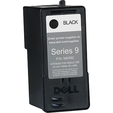 Dell Series 9 Black Ink Cartridge (MK992), High Yield