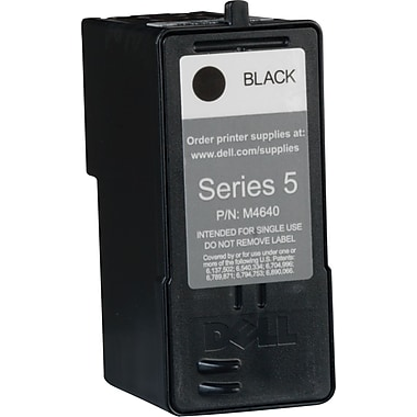 Dell Series 5 Black Ink Cartridge (M4640), High Yield