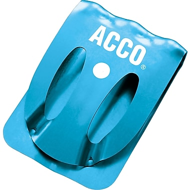 Acco® Klix Clips, Assorted Colors, 10/Pack