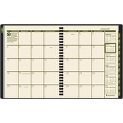 "2014 AT-A-GLANCE®  Monthly Planner, 6 7/8"" x 8 3/4"", Black"