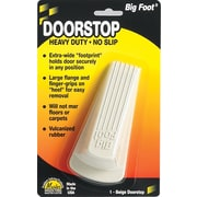 Master Caster Big Foot Door Stop, Beige