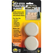 Mighty Mite Furniture Sliders, 4 Pack