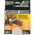 Mighty Mite Furniture Sliders, 5in., 4/Pack