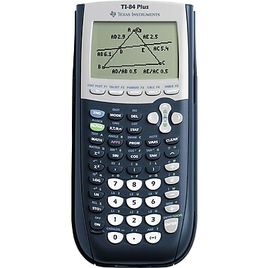 Texas Instruments TI-84 Plus Graphing Calculator, 10-Unit Teacher Pack
