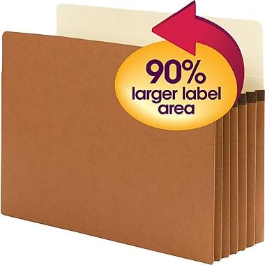 Smead® SuperTab® File Pocket, Oversized Straight-Cut Tab, 5-1/4