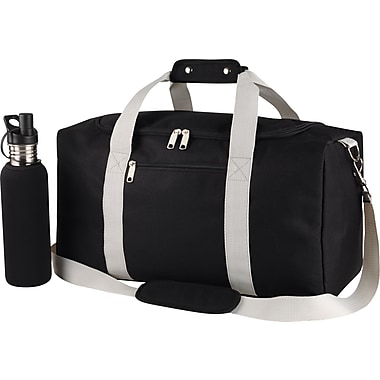 Duffel Bag with Water Bottle