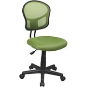 Office Star™ Mesh Armless Low-Back Task Chair, Green