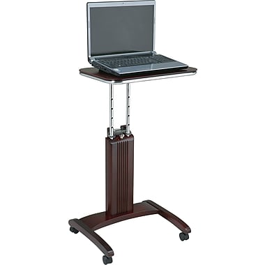 OSP Designs™ Mobile Veneer Laptop Desk, Mahogany