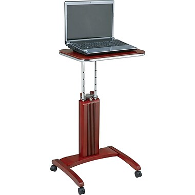 OSP Designs™ Mobile Veneer Laptop Desk, Cherry