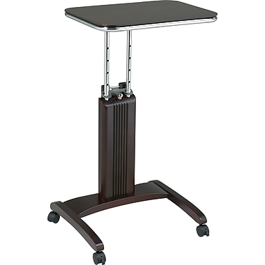 OSP Designs™ Mobile Veneer Laptop Desk, Espresso