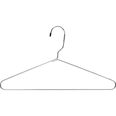 Safco® 17in. Heavy Chrome Coat Hangers