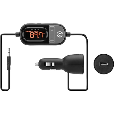 Belkin TuneCast Auto FM Transmitter with ClearScan