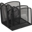 Staples® Black Wire Mesh Mini Desk Organizer
